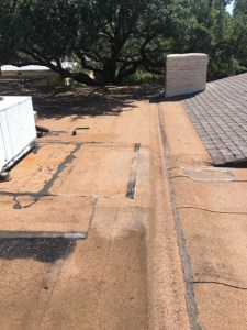 Problems with flat roofs Coatings Frisco TX