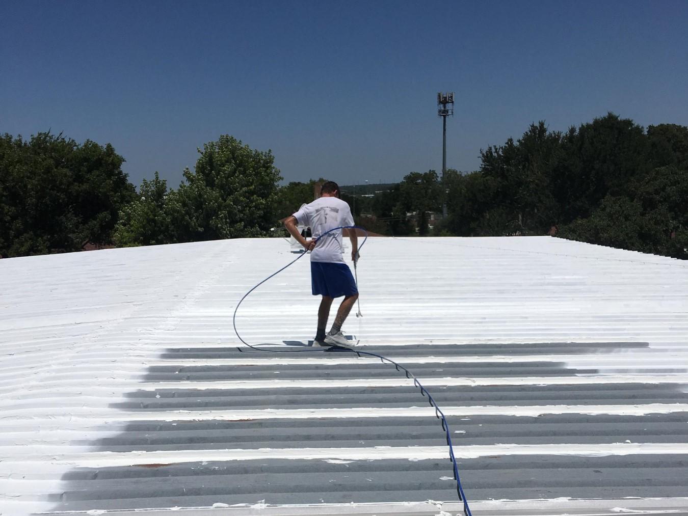 Silicone vs. Acrylic Roof Coatings