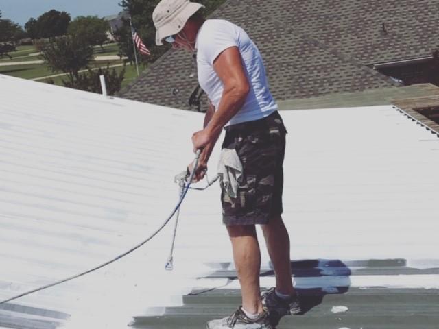 Fluid-Applied Reinforced Roofing