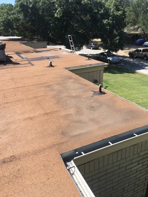 Dangers of ponding water on your roof Frisco, Tx Coatings