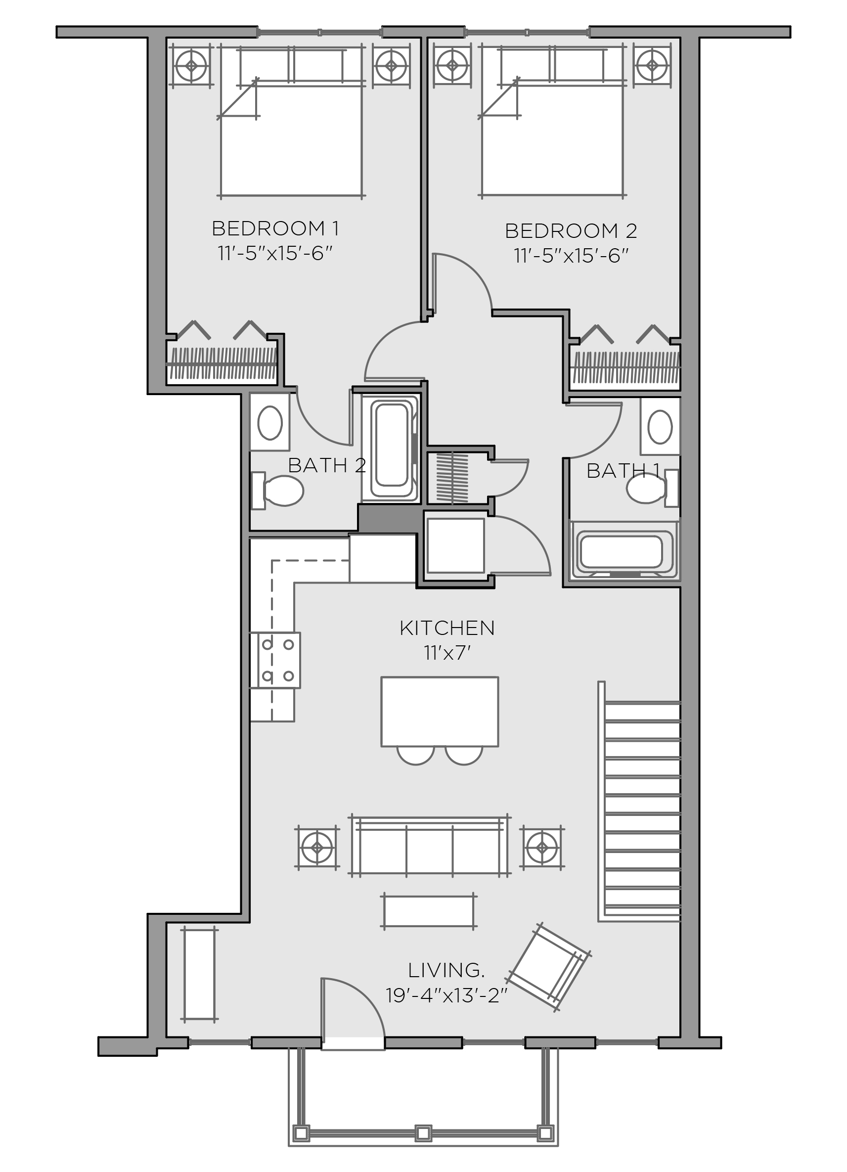 England Floorplan