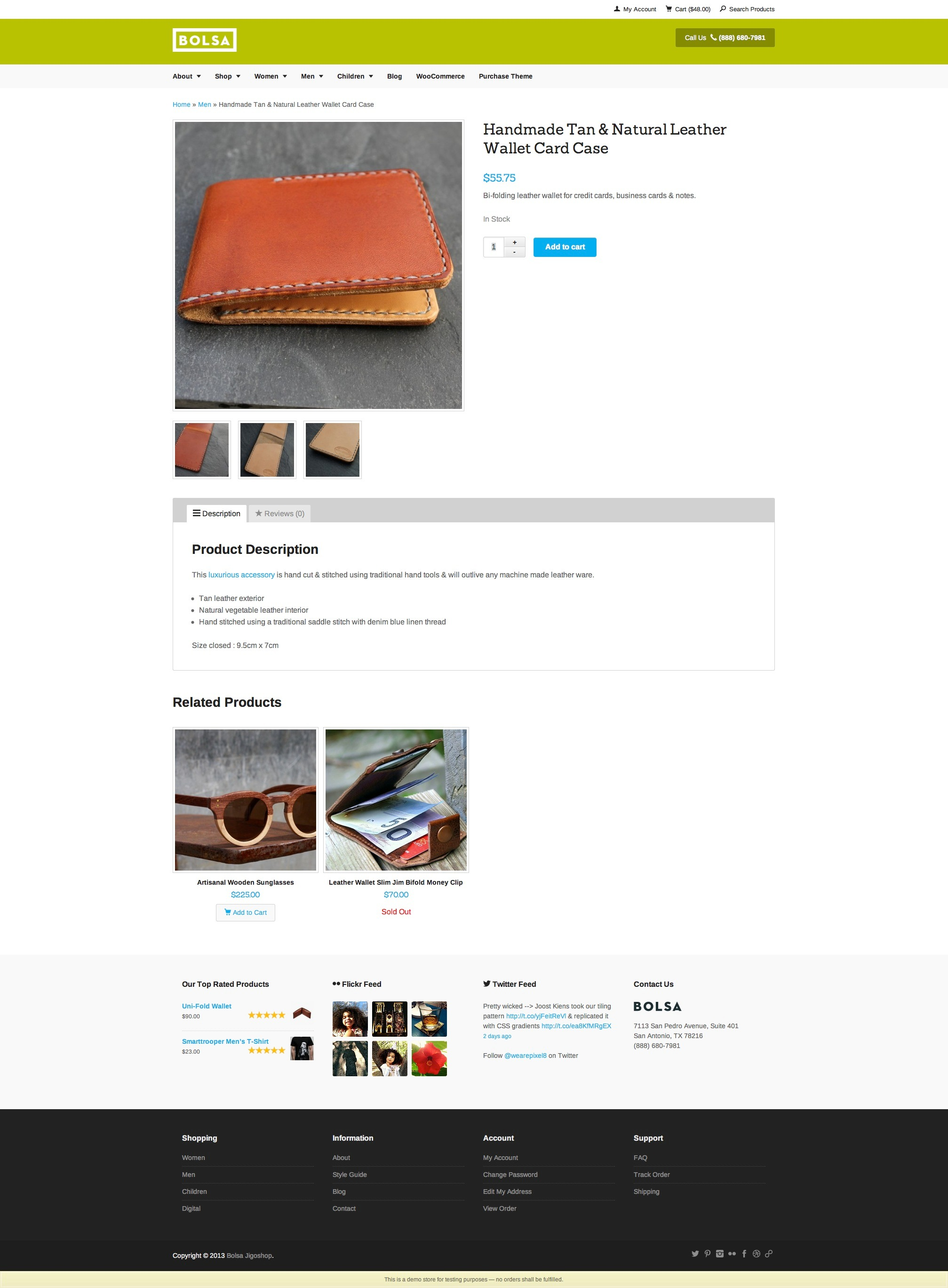 Jigoshop Product Page