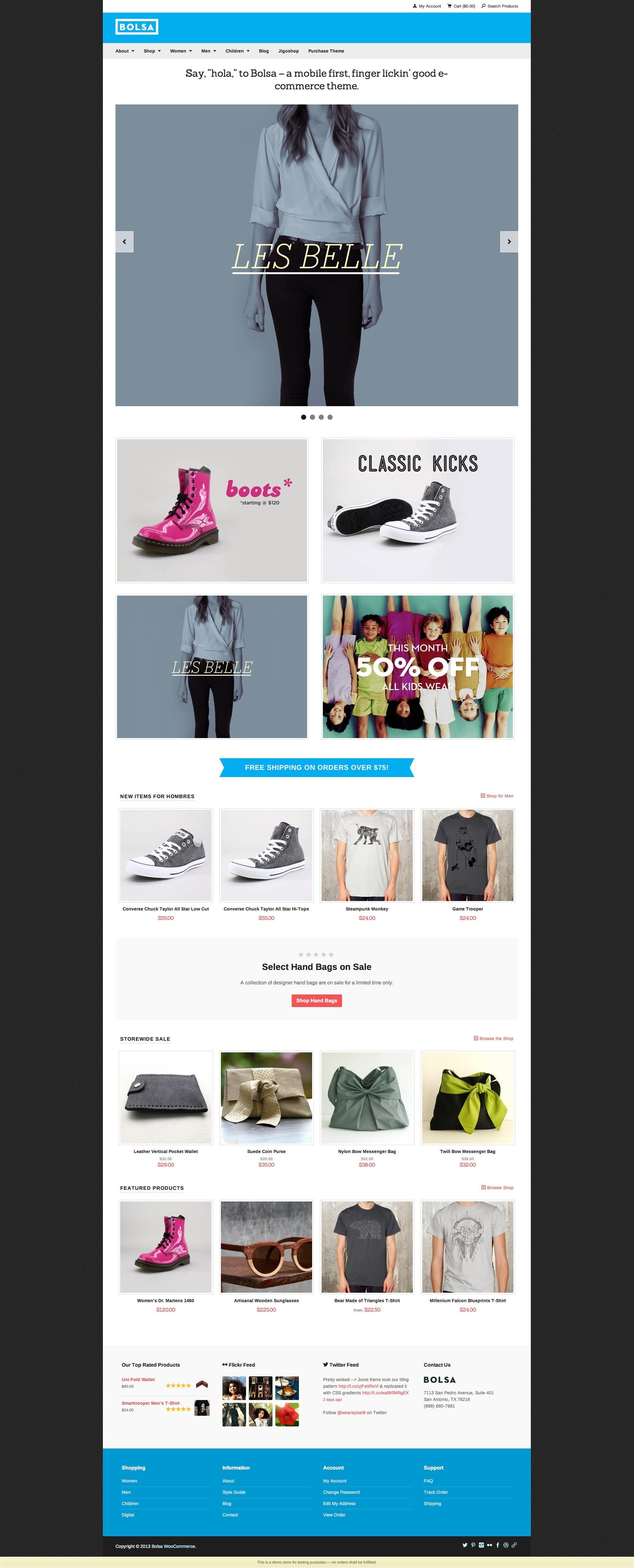 Woo Home Page