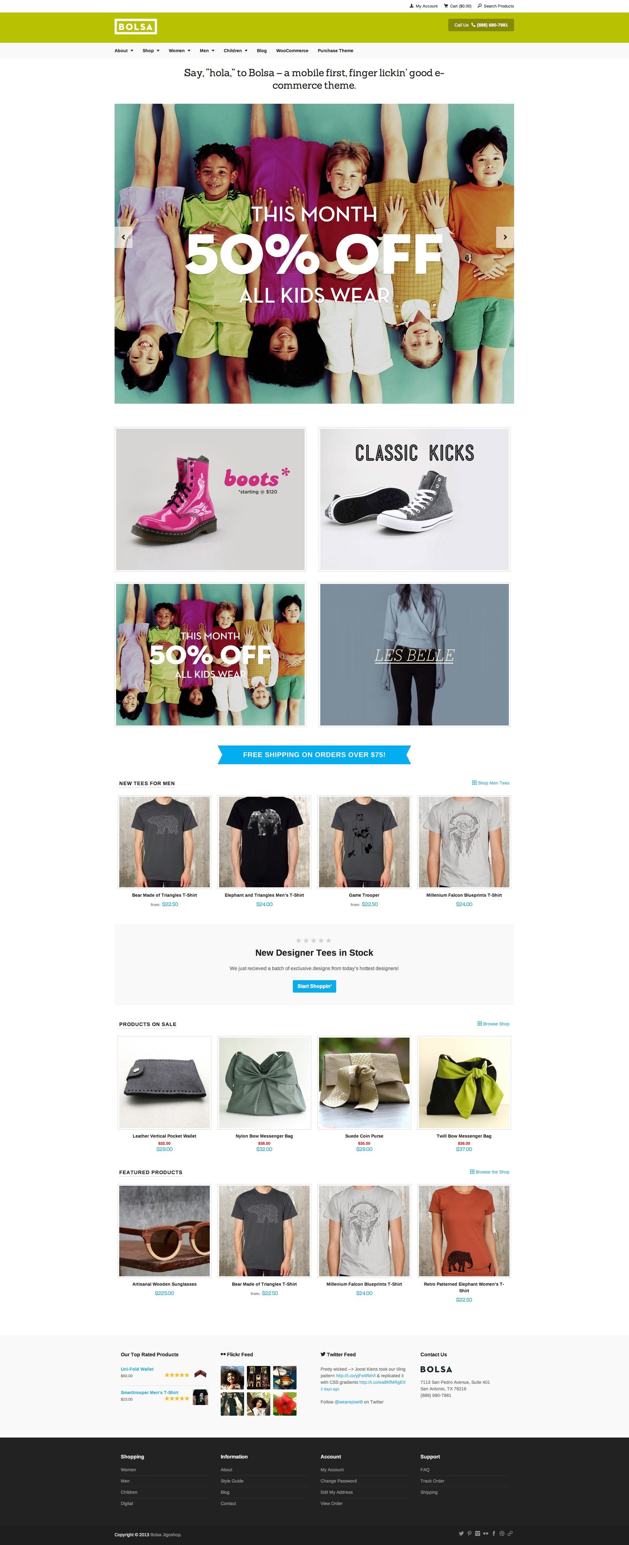 Jigoshop Home Page