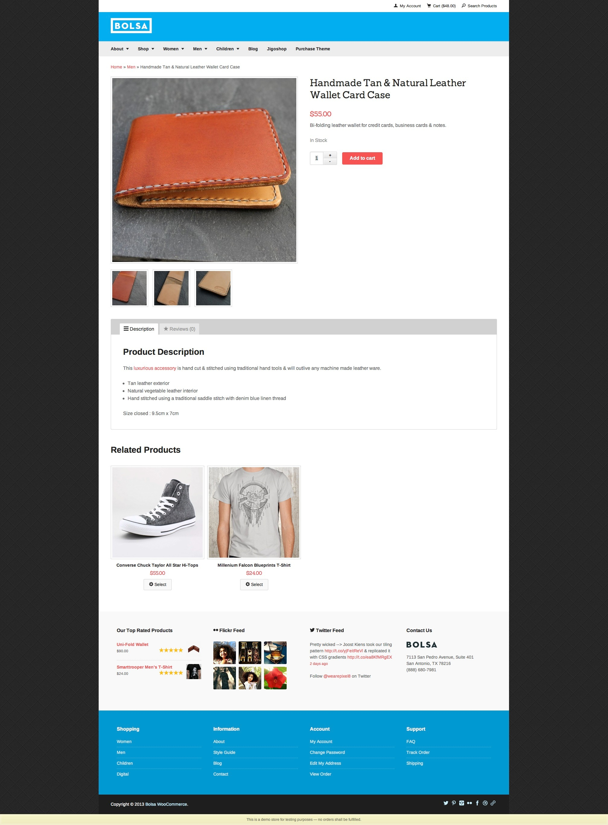 Woo Product Page