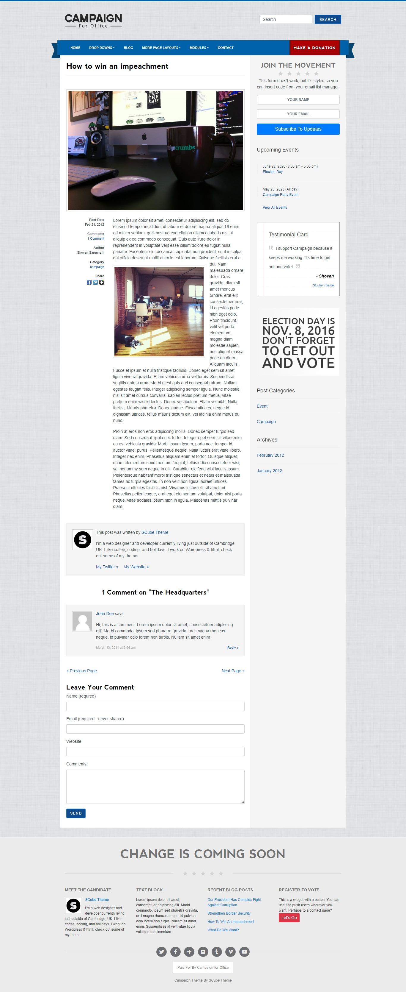 Blog Single Page