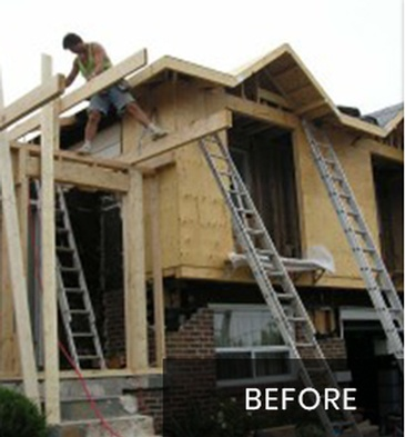 Before New Home Construction by Arnold Homes Ltd - Newmarket Renovation Contractor