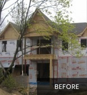 Before New Home Construction Markham by Arnold Homes Ltd