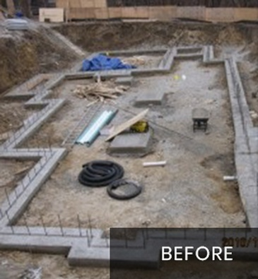 During New Home Construction Services by Arnold Homes Ltd - Toronto General Contractor