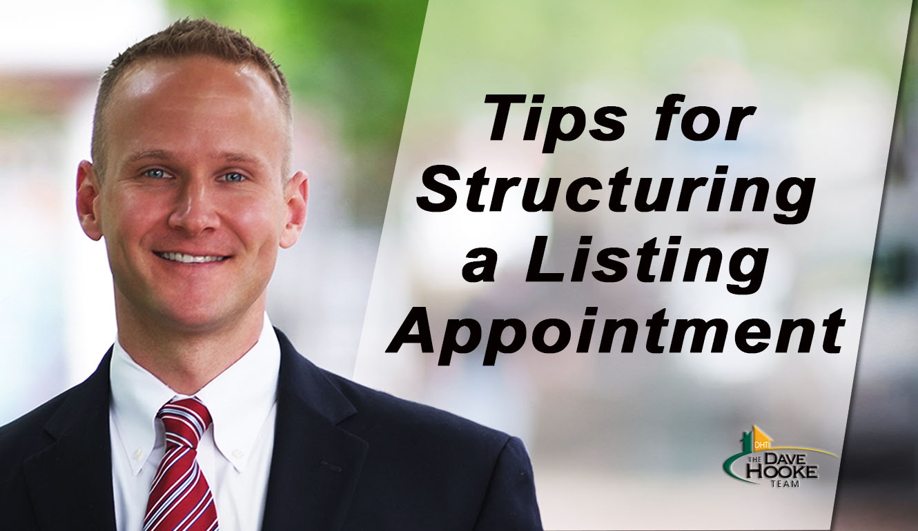 What's the Best Way to Structure a Listing Appointment?