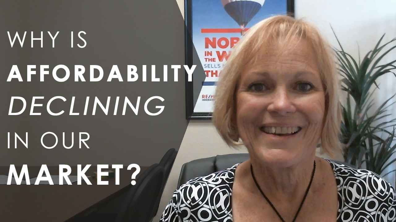 How Declining Affordability Affects Our Market