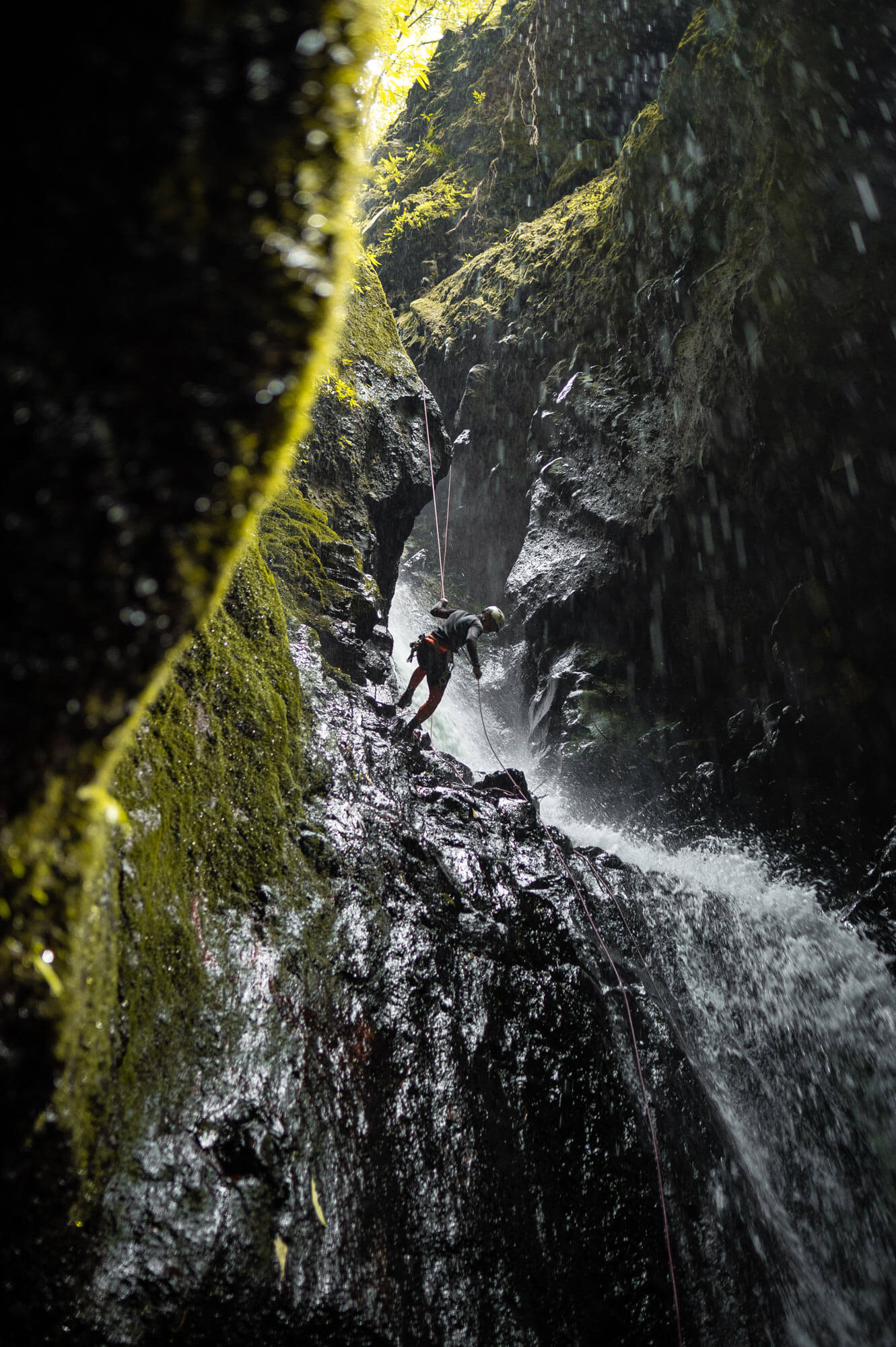 Canyoning in Bali
