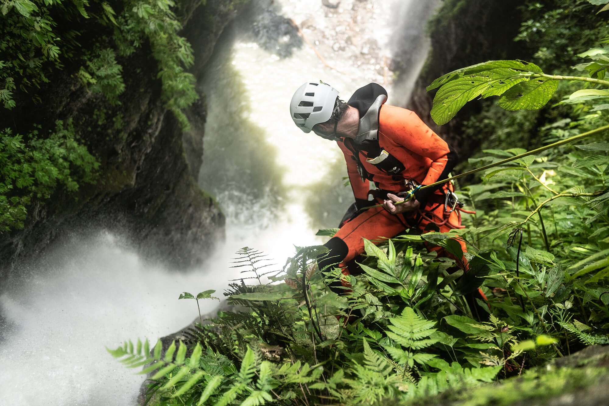 The most beautiful canyon in Bali with waterfalls. Photo © Supersmarindo