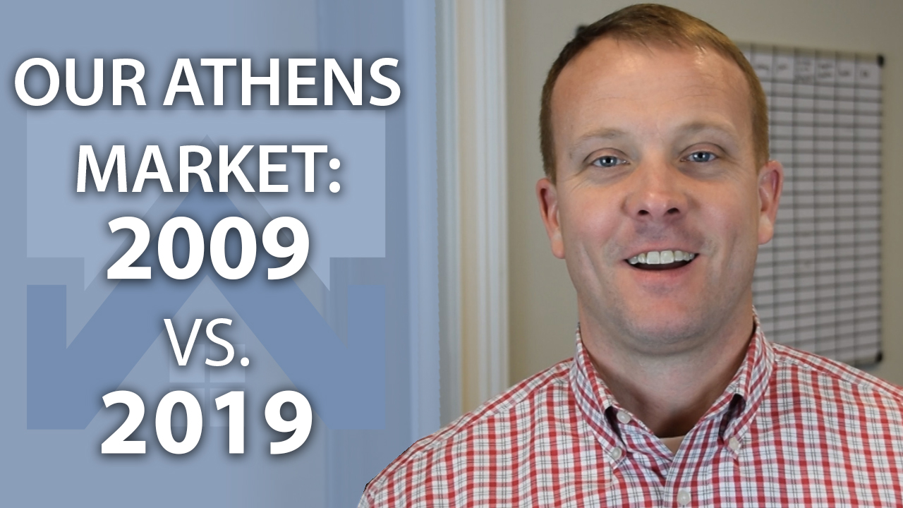 Our Athens Market: 2009 vs. 2019