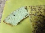 acupuncture slice of non-grain bread