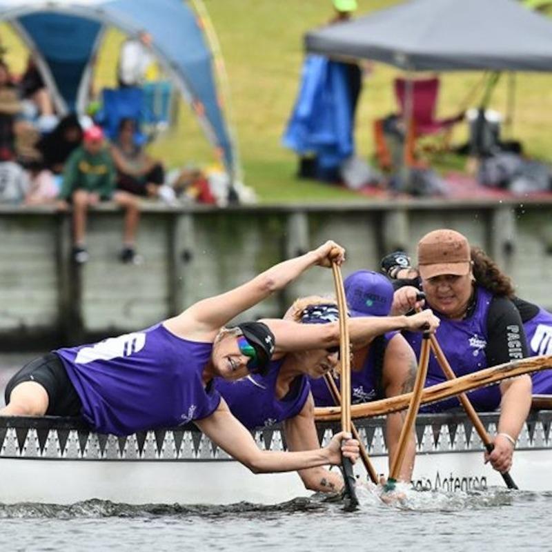 Hauraki Waka Ama paddles their own canoe
