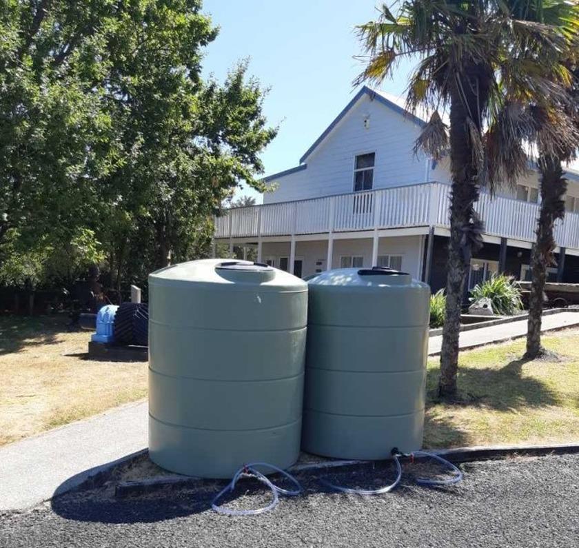 Waihi community response to water shortage, heartening