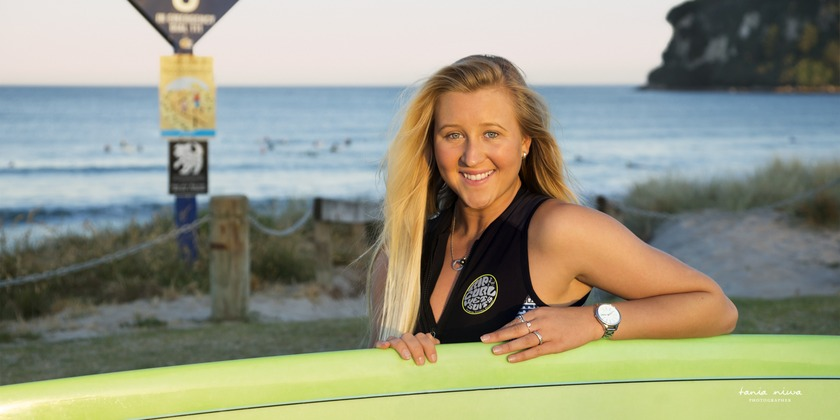 Whangamata surfer Ella Williams provisionally qualifies for the Tokyo 2020 Olympics