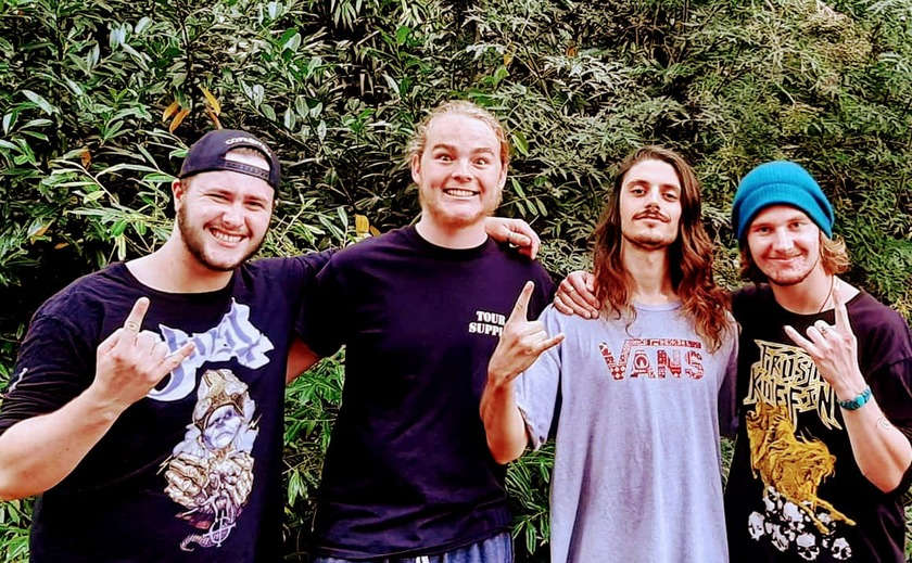 Alien Weaponry Bass Player Taking Time to Complete School