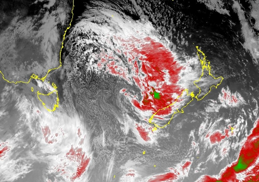 NZ Stuck in an Unsettled Weather Pattern
