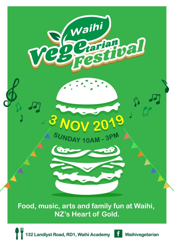 Waihi Vegetarian Festival is much more than a vegefest