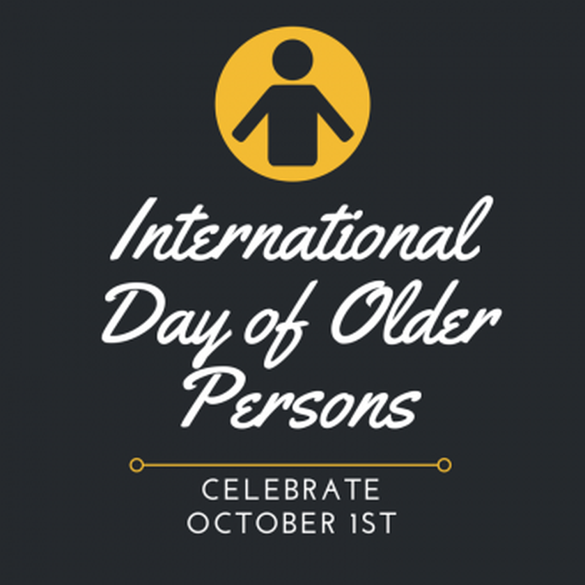 We're celebrating International Day of the Older Person