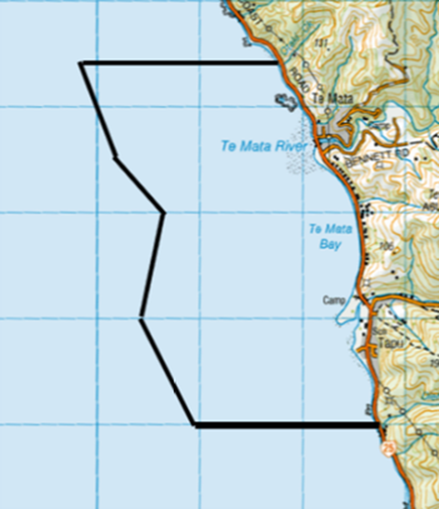 Rāhui/prohibition placed on shellfish gathering in Te Mātā and Tapu