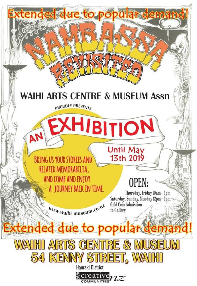 Nambassa Revisited Exhibition extended due to popular demand