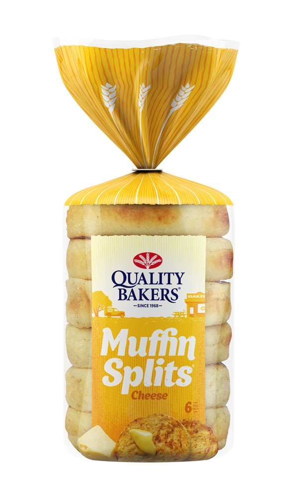 Check your Quality Baker brand Cheese Muffin Splits