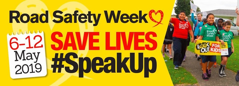 It's Road Safety Week this week 6 -12 May