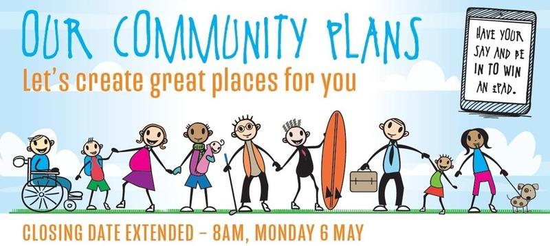 TCDC Community Plan Survey open until Monday