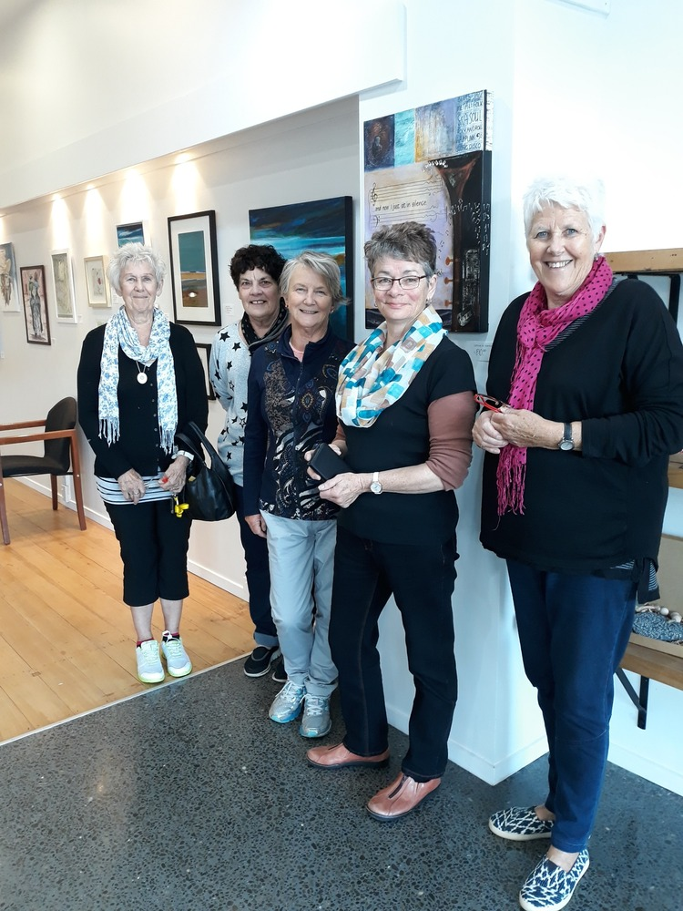 Unlimited Palette one day exhibition at Waihi Beach this Saturday
