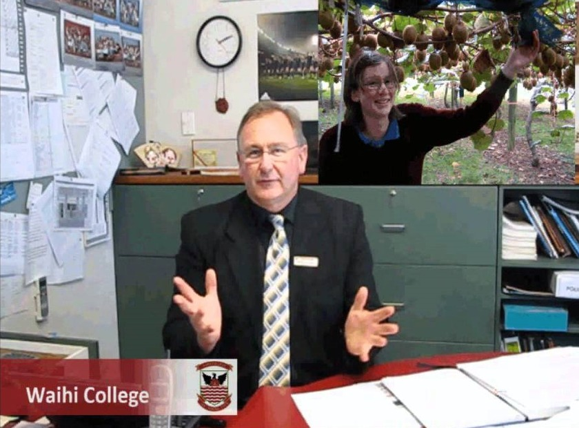Back to school with Waihi College