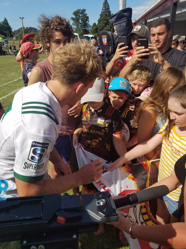 Waihi turns it on for Chiefs and Blues
