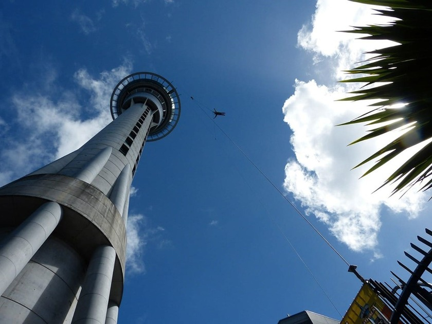 Fire in Auckland CBD