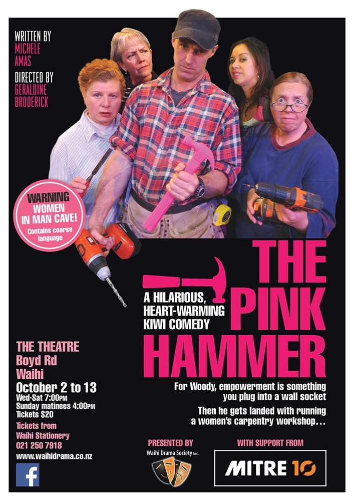 Opening Night Special of $15 for Waihi Drama Society's latest production - The Pink Hammer