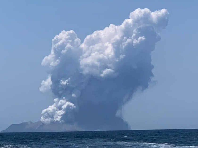 Recovery operation underway at White Island eruption