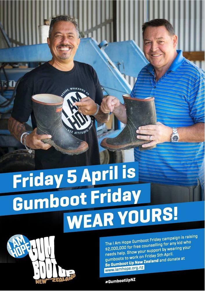 Gumboot Up NZ!
