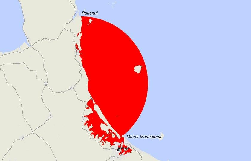 Marine biotoxin warning issued