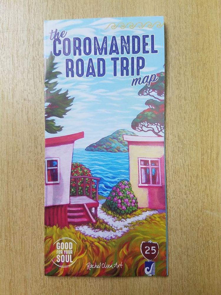 Coromandel Road Trip Map and Brochure