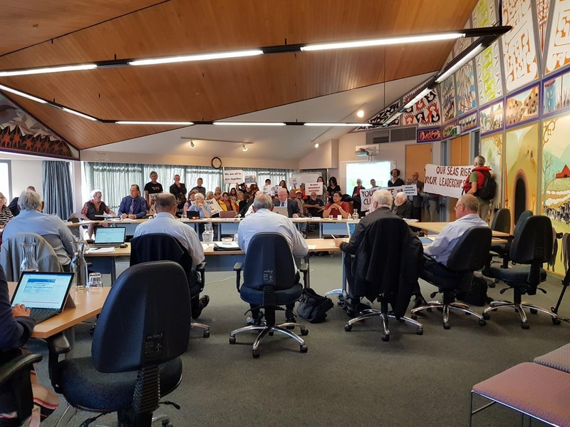 TCDC Council Majority says no to Climate Change Declaration