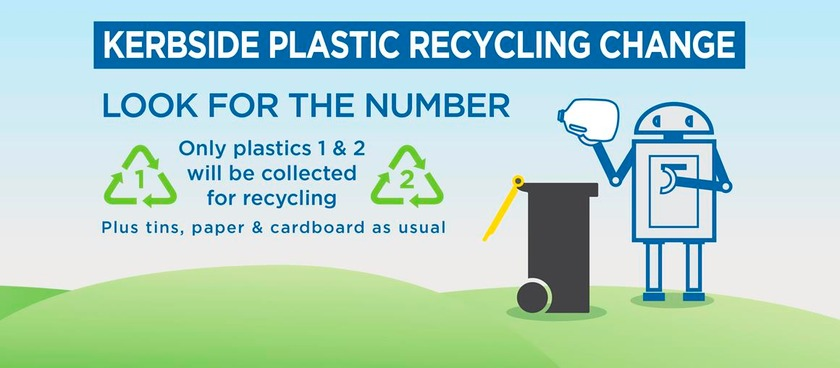 Changes to recycling plastics from today