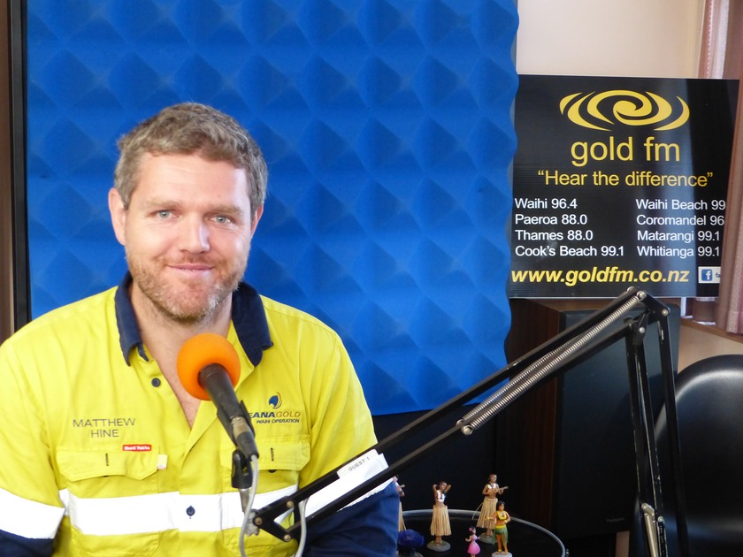 Gold FM's introduction to OceanaGold's new General Manager Matthew Hine