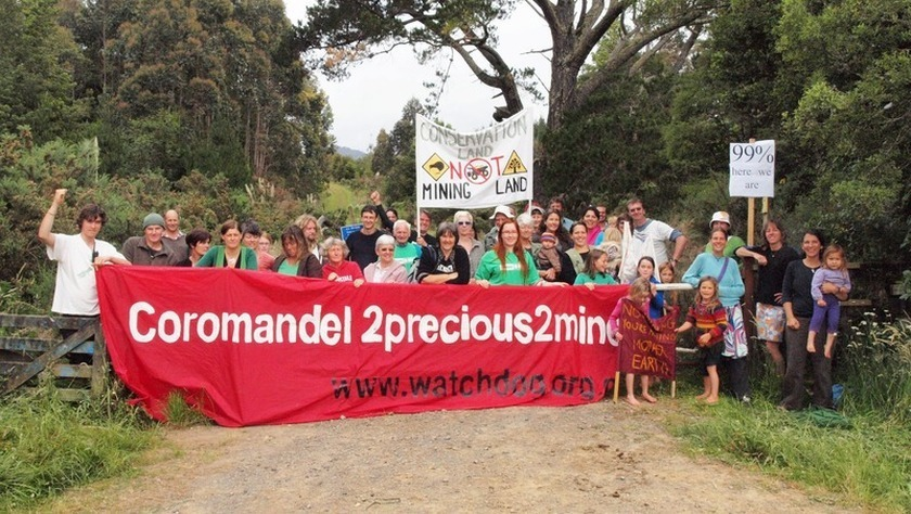 Compounding the Toxic Legacy of Gold Mining: Another huge hole in the heart of Waihi