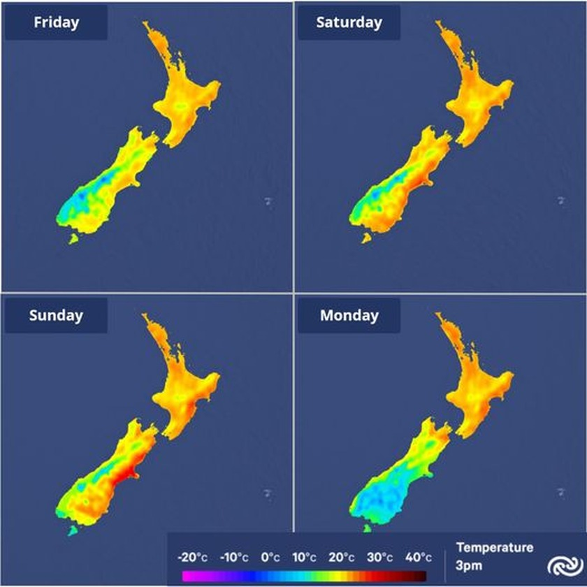 The weather comes to the party for Labour weekend