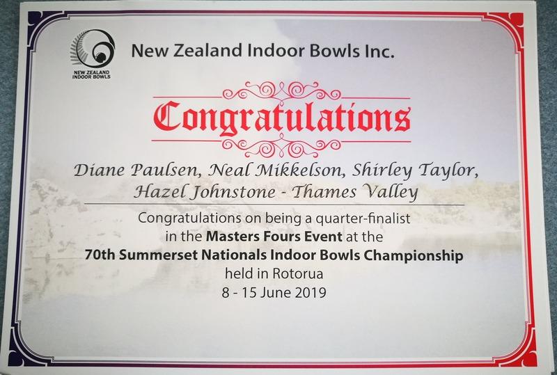 Waihi Beach RSA team bowls into quarter finals