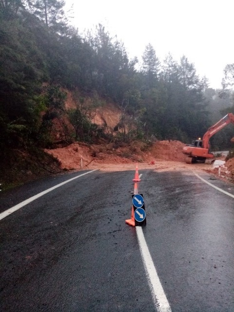 Thames Coromandel roading and weather evening update