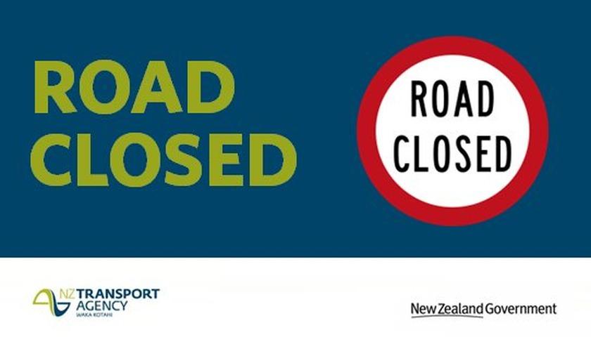 SH 2 Paeroa to Waihi (Karangahake Gorge) Closed