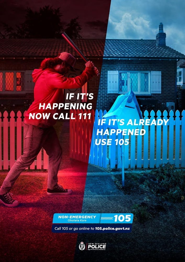 Police announce non-emergency number – it's 105