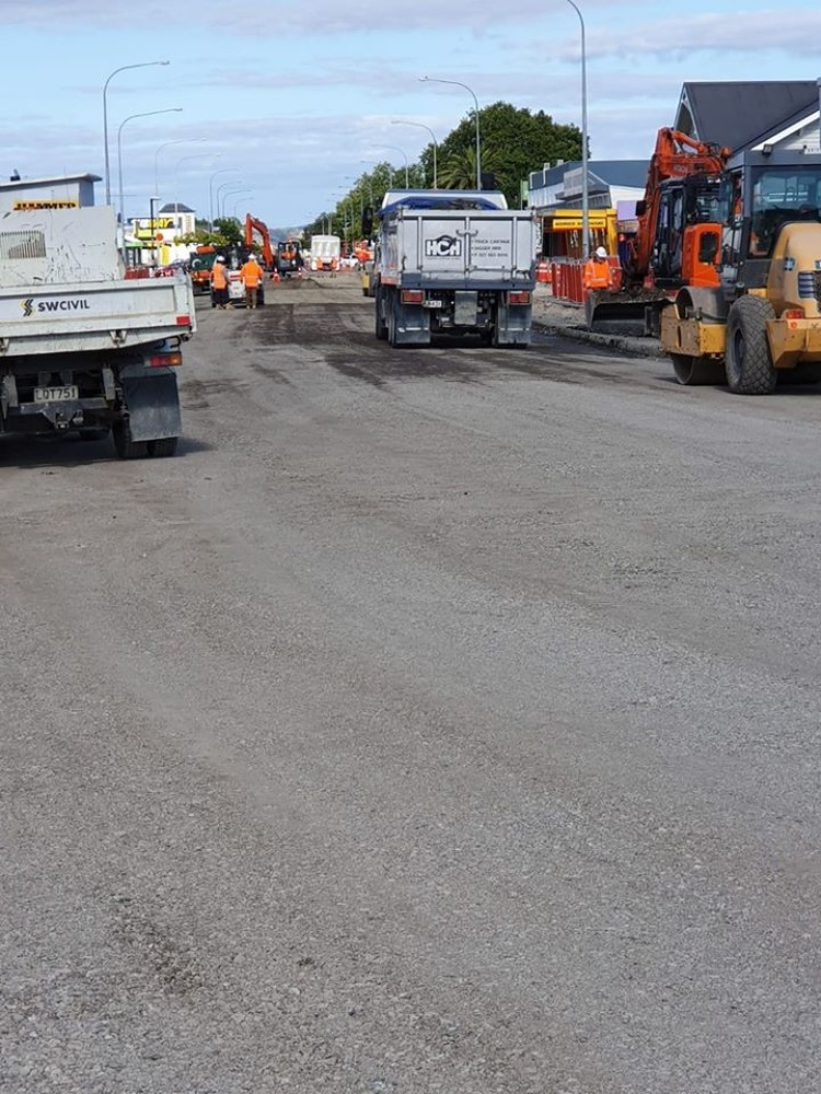 Work on SH2 Ngatea resumes today